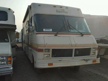 Salvage Fleetwood Motorhome