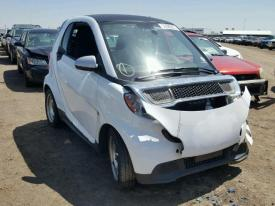 Salvage Smart fortwo
